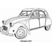 Free Vector Graphic Car Drawing Cars Citroen