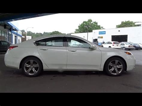 scarsdale honda 2012 acura tl white plains new rochelle westchester