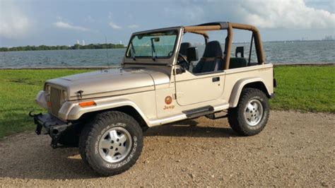 jeep wrangler beach edition jeep wrangler yj sahara edition for sale photos
