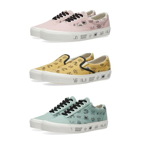Vans X Brain Deads vans x brain dead collection available now the drop date
