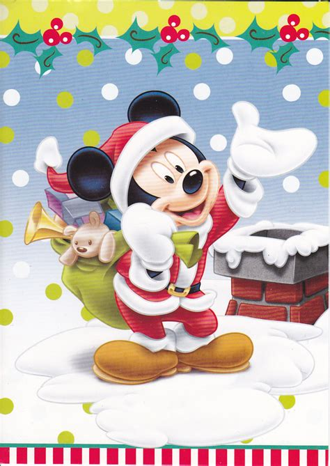 mickey mouse christmas card  christmas   flickr