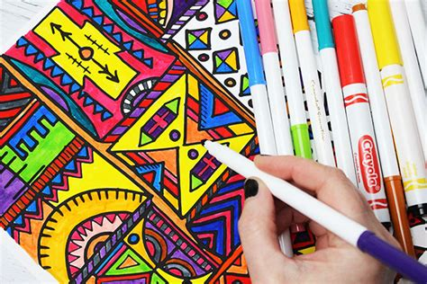 coloring with markers alisaburke markers tips and tricks for adults