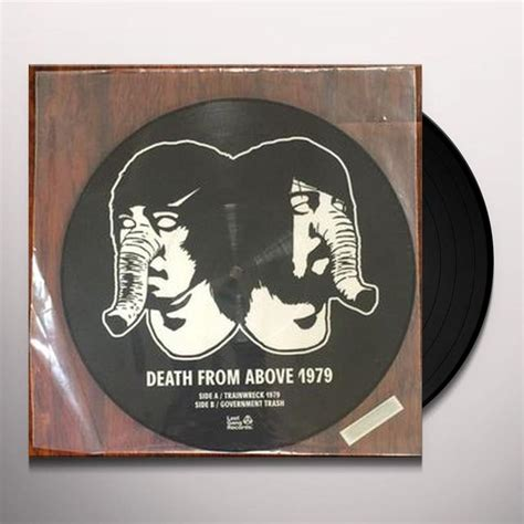 From Above Records From Above 1979 Trainwreck 1979 Vinyl Record Canada Release