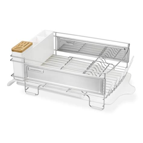 Large Dish Rack by Williams Sonoma Stainless Steel Dish Rack Large
