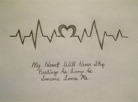 heartbeat pattern tattoo heartbeat by devinsummers on deviantart