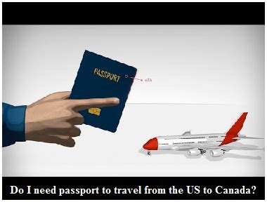 Traveling To The Us From Canada With A Criminal Record Do I Need Passport To Travel From The Us To Canada Canadian Immigration Blogs