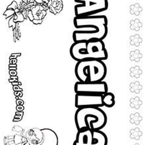 coloring pages of the name andrea how to draw andrea letters