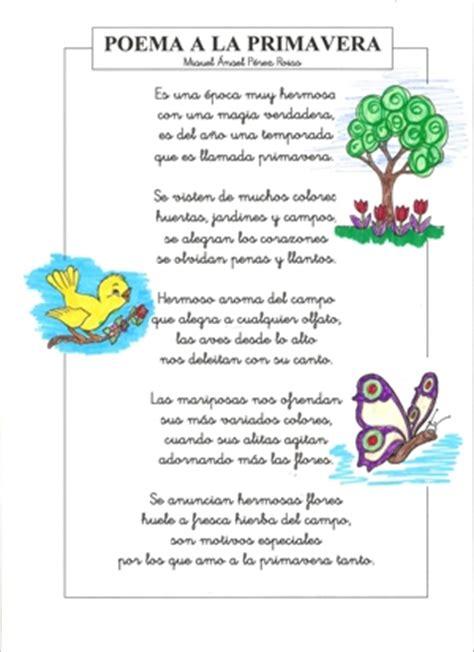 poemas y rimas infantiles de la primavera para ni os poemas infantil
