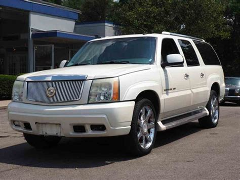 car owners manuals for sale 2003 cadillac escalade windshield wipe control 2003 cadillac escalade for sale classiccars com cc 1041450
