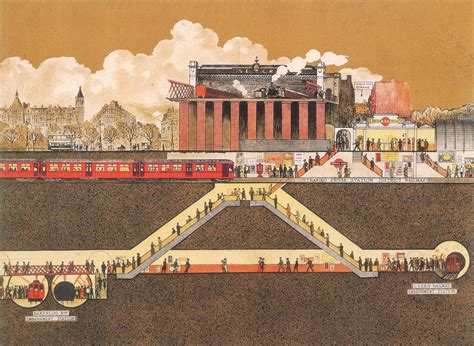 sections of london historical diagram charing cross embankment tube