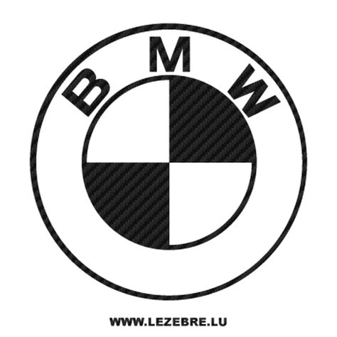 bmw bicycle logo bmw logo carbon decal 4