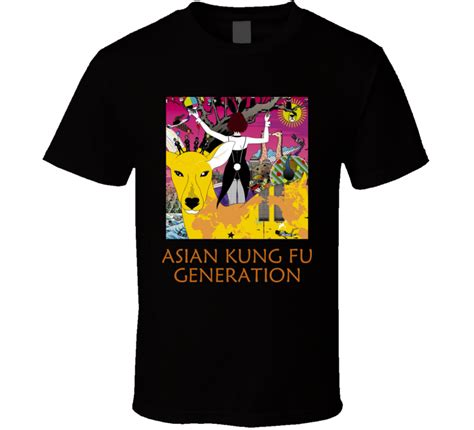 Tshirt Generation asian kung fu generation logo t shirt