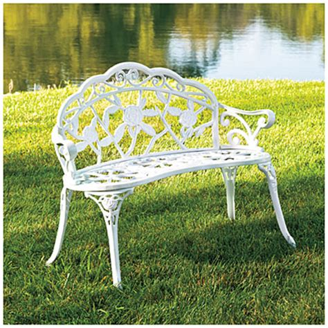 big lots bench wilson fisher 174 vintage rose cast iron bench big lots