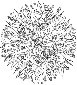 nature mandala coloring pages best 25 mandala coloring ideas on mandala