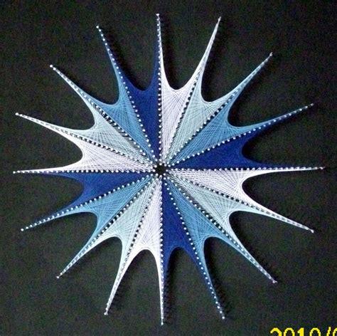 imagenes string karma sonnenstern blau string art pinterest string art
