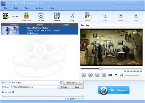 video format converter software lionsea mov to mp4 converter ultimate screenshot x 64