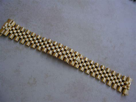 rolex bracelet 18k gold jubilee from gmt 16758
