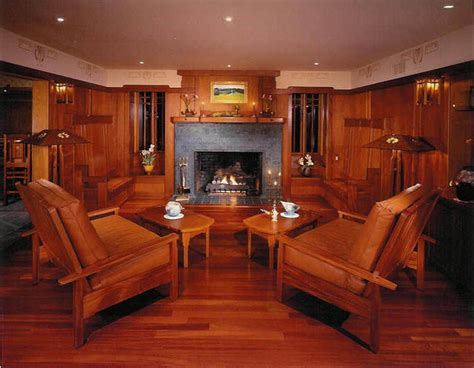 craftsman style living room furniture craftsman bungalow craftsman living room los angeles
