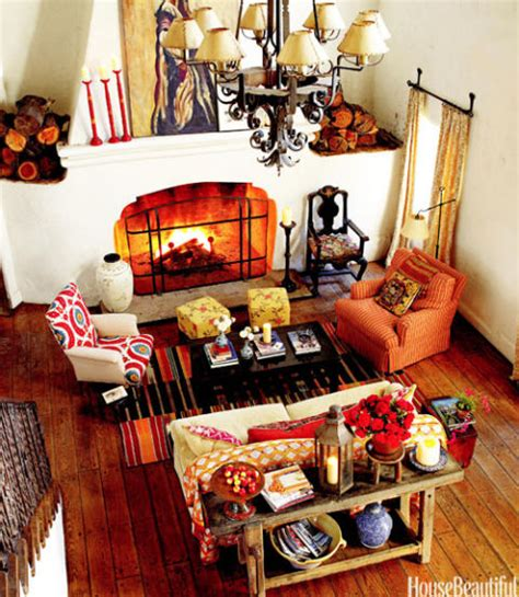 Indian Style Home Decor by Kathryn Ireland Ojai Style Home Bold And Bright