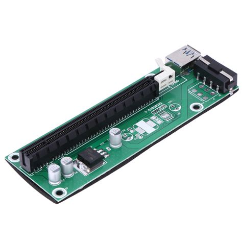 usb 3 0 pci e pci express riser card 1x to16x extender
