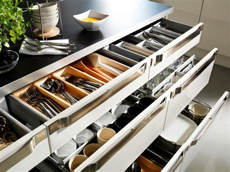 Small Kitchen Drawer Organizer kitchen cabinet organizers pictures ideas from hgtv hgtv