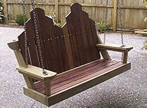 swing seat plans free woodworking plans swing seat plans and projects
