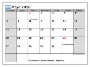 Calendario 2018 Mayo Calendario Para Imprimir Mayo 2018 D 237 As Feriados En