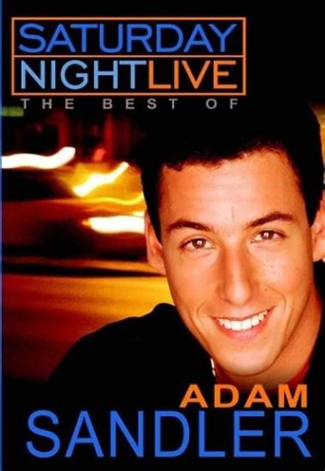 saturday night     adam sandler