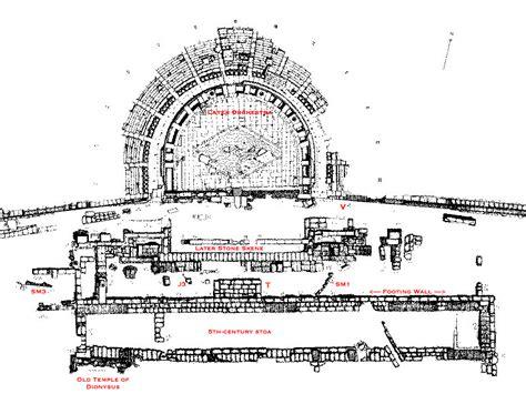 Floor Plan Home theater of dionysus state plan univ of sask