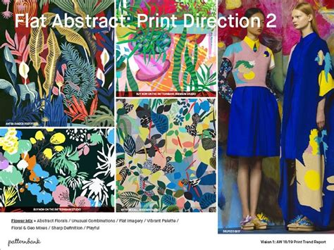 patternbank experience vision 1 autumn winter 2018 19 print trend report