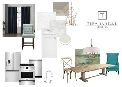 kitchen design boards tera janelle design
