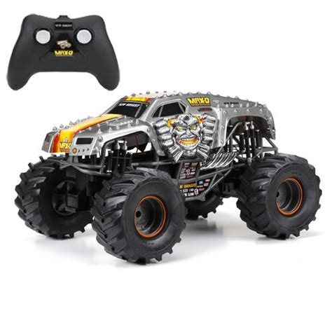 monster jam rc truck new bright f f 9 6v monster jam max d rc car 1 10 scale