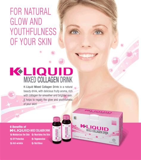 Liquid Collagen K Link mylene shop k liquid collagen