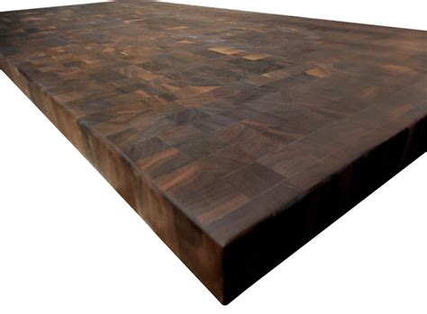 how to make an end grain butcher block end grain walnut butcher block countertop farmhouse