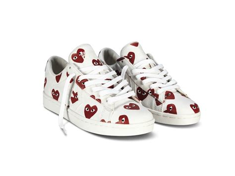 cdg sneakers a playful collection converse reunites with comme des