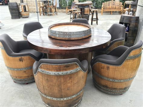 whiskey barrel chairs for sale strikingly design ideas barrel furniture wyld at