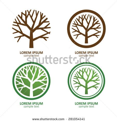Stock Images Royalty Free Images Vectors Shutterstock Green Tree Logos Vector Graphic 05 Vector Logo Free