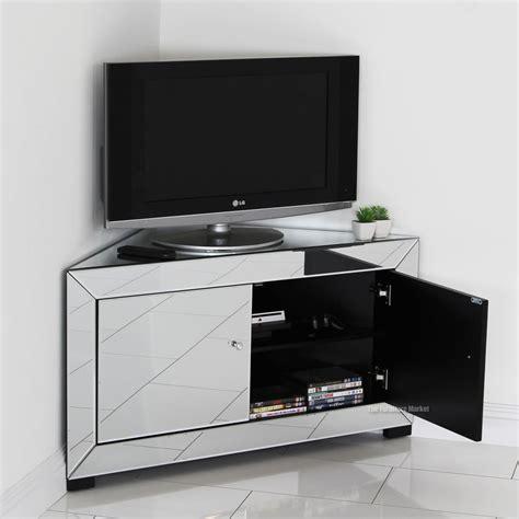 Mirrored Tv Cabinet by Venetian Mirrored Corner Tv Cabinet