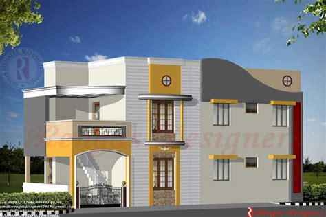 free online home elevation design home design indian house design double floor house