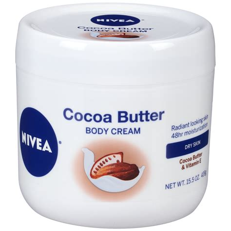 Creme Cocoa Butter nivea in shower cocoa butter lotion 13