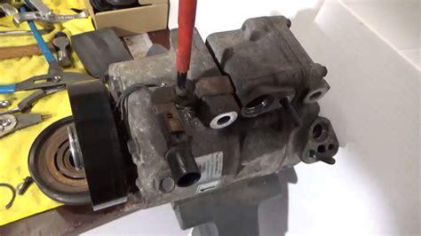 hyundai sonata 2 4l 06 07 a c compressor clutch kit repair