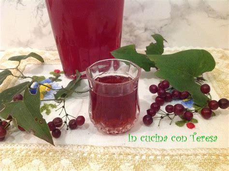 liquore cherry fatto in casa liquore cherry di in cucina con teresa