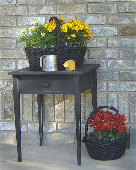Front Porch Table Inexpensive Simple Front Porch Ideas From Home Hinges
