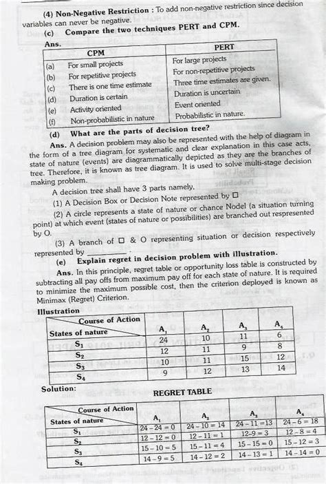 operation research question paper 2018 2019 student forum reply to topic