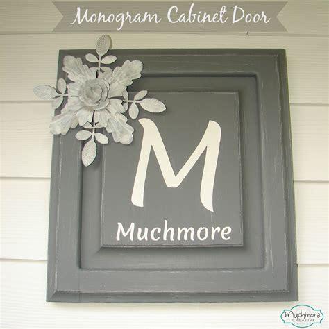 creative cabinet doors muchmore creative monogram cabinet door