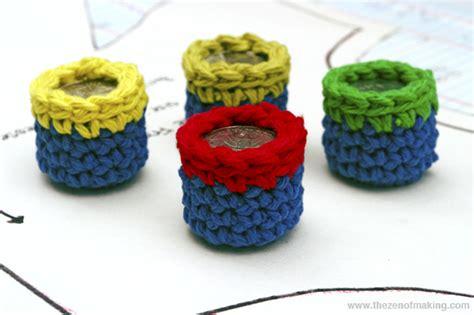 best pattern weights tutorial crocheted pocket change pattern weights red