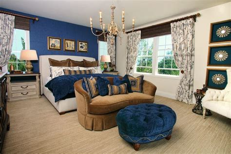 beige couch what color pillows blue ivory kitchen traditional with white cabinetry square