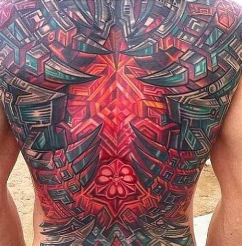 mike cole tattoo awesome bio mechanical organic anatomical tattoos source