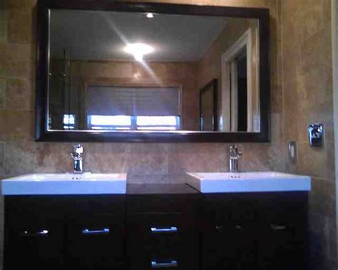 custom framed mirrors bathroom custom framed bathroom mirrors decor ideasdecor ideas