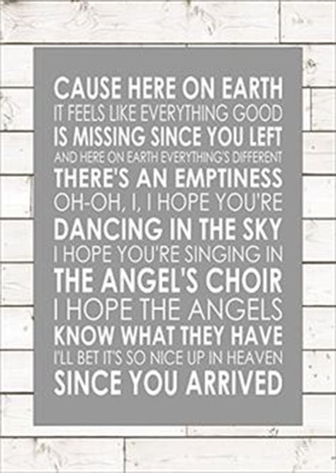 printable lyrics to dancing in the sky 1000 images about my prints quotes on pinterest print